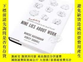 二手書博民逛書店關於工作的9個謊言英文原版Nine罕見Lies About Wo