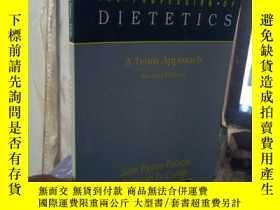 二手書博民逛書店THE罕見PROFESSION OF DIETETICSY153