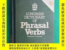 二手書博民逛書店外文書罕見LONGMAN DICTIONARY OF Phrasal Verbs 共734頁Y15969 吧