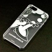 尼德斯Nydus~* 日本正版 Disney 迪士尼 透明系列 手機殼 保護殼 iphone 5 5S 米妮