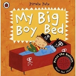 【幼兒聲音書】MY BIG BOY BED: A PIRATE PIETE /聲音書