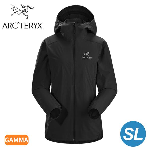 【ARC'TERYX 始祖鳥 女 Gamma SL軟殼外套《黑》】25135/薄外套/夾克/防風外套