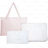 【17go】 CLARINS 克蘭詩 浴巾+收納袋