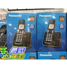 [COSCO代購] Panasonic 數位無線答錄電話機KX-TGD320TWB _W107810