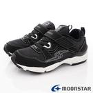 日本Moonstar機能童鞋 四大機能運動鞋款 9716黑(中大童段)