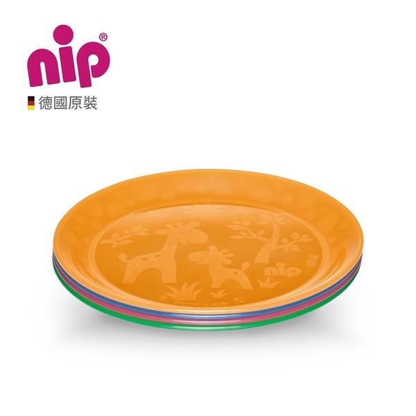 nip 德製嬰幼兒繽紛餐盤4入組 B-37062-00-FF