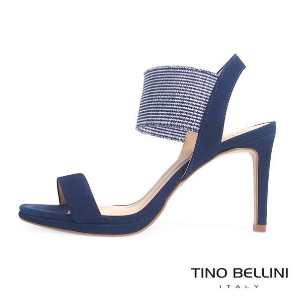 Tino Bellini 巴西進口異元素細緻高跟涼鞋 _ 藍 B63009C 歐洲進口款