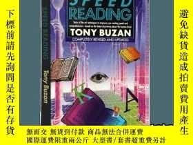 二手書博民逛書店快速閱讀罕見英文原版心理書籍 Speed Reading 東尼博
