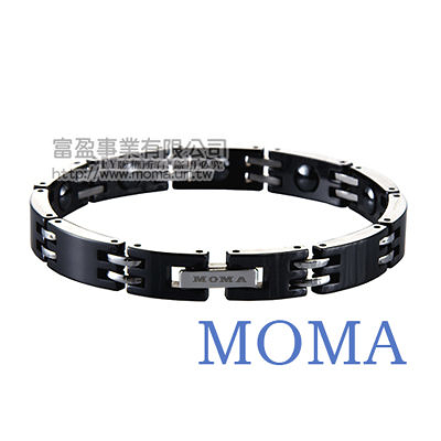 【MOMA】陶瓷鍺磁手鍊窄版-M65L