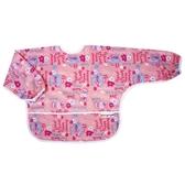 【任二入95折】Baby City娃娃城 - 防水長袖圍兜 粉色兔子 (1-3歲)