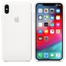 Apple iPhone XS Max 原廠矽膠護套 iPhone XS Max 原廠保護殼【白色】 美國水貨 原廠盒裝
