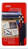 Derwent 達爾文Graphic Collection 系列素描筆組12 入34305
