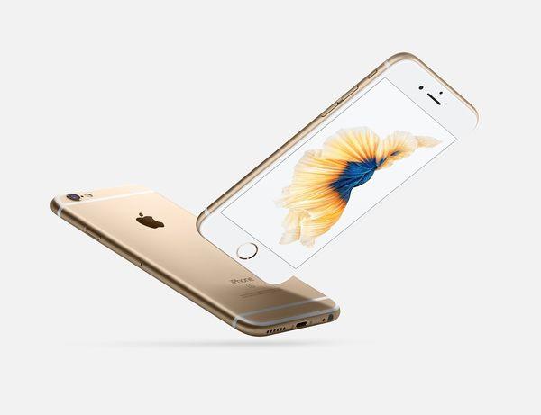 Apple iPhone6s Plus / Apple iPhone 6s+ / i6sp 128G 5.5吋 / 贈鋼化玻璃貼 / 24期零利率【香檳金】