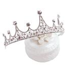 兒童皇冠頭飾      公主女童王冠水晶發箍小孩生日發卡小朋友演出飾品