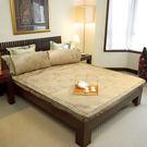 范登伯格 雅柔冰絲涼夏加大雙人床蓆組(內含枕套)-6*6.2尺