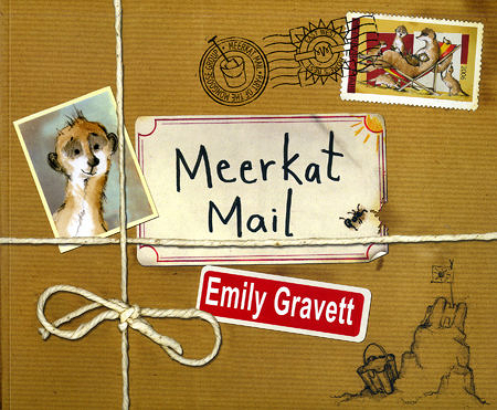 【麥克書店】MEERKAT MAIL /英文繪本+CD《主題:溫馨情誼.勇敢冒險》