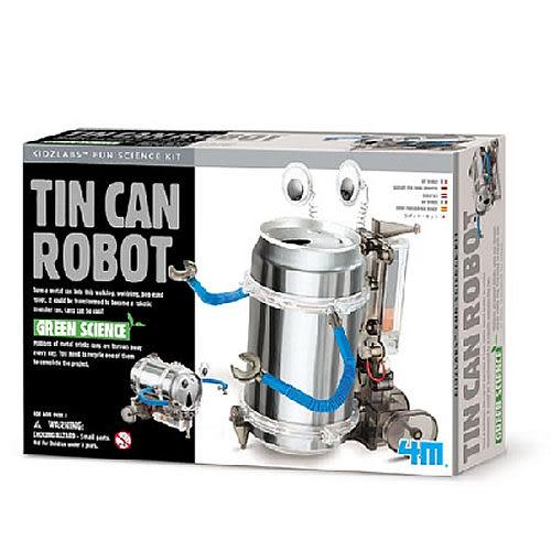 【4M】科學探索系列 - 創意環保機器人 Tin Can Robot 00-03270