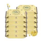 韓國 Enblanc 頂級柔緻純水有蓋攜帶裝濕紙巾-蠟菊萃取物72抽10包(箱購)
