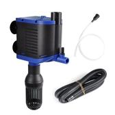 YEE魚缸三合一潛水泵過濾泵靜音帶增氧水族箱魚缸過濾器抽水泵 伊衫風尚