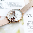 FOSSIL美國品牌Jacqueline花卉時尚真皮腕錶ES4671公司貨/禮物