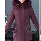 羽絨服中老年棉衣女冬裝外套中年媽媽秋冬羽絨棉服【小酒窩服飾】