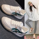 阿甘鞋阿甘鞋女鞋子2021新款夏季網面百搭小白鞋休閒運動板鞋女鞋 芊墨