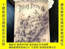 二手書博民逛書店獨立漫畫罕見Tiny Pencil IV: Death & Re