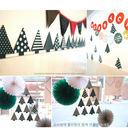 【韓風童品]】聖誕樹墻貼    聖誕節裝飾用品  派對聚會裝飾窗貼   拍攝背景裝飾 櫥窗裝飾佈置