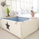 【韓國GGUMBI/Dream B】多功能圍欄地墊式嬰兒床-大星星 #BB-FG-LuckyStar