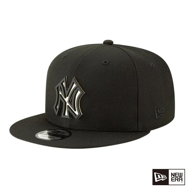 NEW ERA 9FIFTY 950 METAL STACK 洋基 黑/金 棒球帽