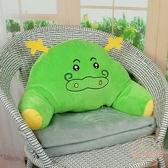 靠枕 辦公室座椅靠枕腰靠腰墊汽車靠墊腰枕椅子靠背墊護腰沙發孕婦抱枕【萬聖夜來臨】