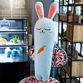毛絨玩具 兔子胡蘿蔔毛絨玩具睡覺抱枕兒童生日禮物女生布娃娃玩偶公仔床上【快速出貨】