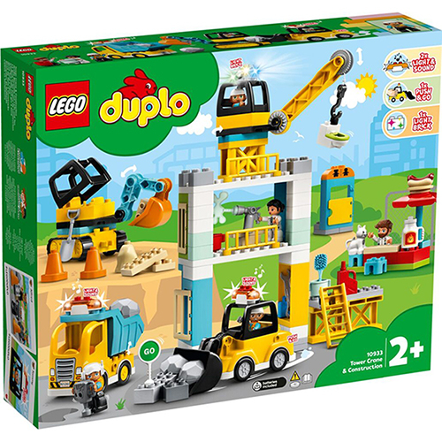 樂高積木 LEGO《 LT10933 》Duplo 得寶系列 - 起重機 & 建設工程 / JOYBUS玩具百貨