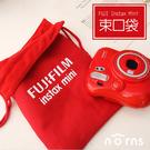 【Fujifilm原廠相機束口袋 紅色加厚款】Norns 富士拍立得 厚棉內裡 限定版 mini 8 9 25 90 SP2