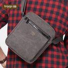 【TROOP】經典品格CLASSIC單肩包/TRP0218BK(黑色)