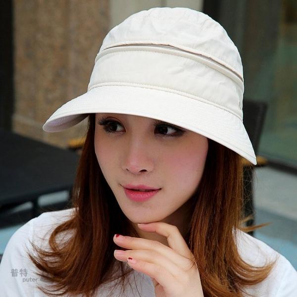 普特車旅精品【OE0925】夏季女士護臉防曬帽 360度全罩式遮陽帽子採茶帽沙灘帽休閒
