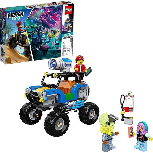 LEGO 樂高 Hidden Side Side Jack s Beach Buggy 70428流行的幽靈玩具(170件)
