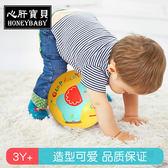 現貨 皮球兒童拍拍球 搖搖球 幼兒園寶寶手抓球嬰兒寶寶玩具球類 皮球