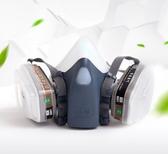 毒霸防毒面具噴漆化工氣體防塵口罩電焊工業專用防護面罩農藥