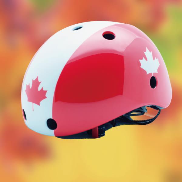 英國 YIIBOZ 兒童安全帽/兒童運動頭盔 加拿大風