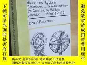 二手書博民逛書店A罕見History of Inventions and Discoveries. by John Beckman