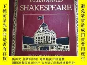 二手書博民逛書店The罕見Globe Illustrated Shakespeare, the complete works an