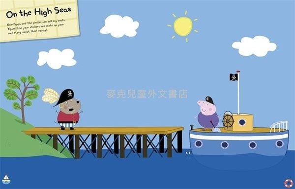 【佩佩豬】PEPPA PIG: TREASURE HUNT! /貼紙活動書