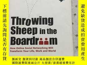 二手書博民逛書店throwing罕見sheep in the boardriim