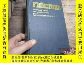 二手書博民逛書店fracture罕見an advanced treatise v