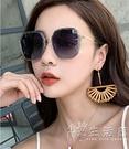 2021年新款ins墨鏡女士太陽眼鏡韓版潮防紫外線大臉顯瘦時尚2020 小時光生活館