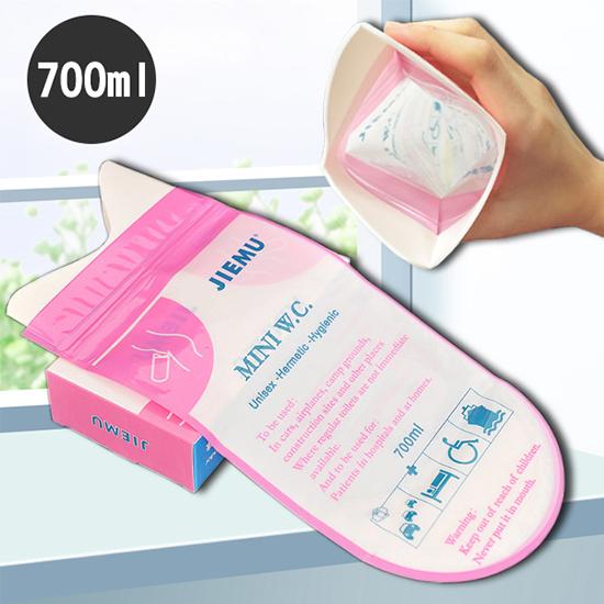尿袋 小便器 可凝固 一入 密封袋 站立式 車用 男女適用 移動廁所 尿袋 嘔吐袋 米菈生活館【J173】