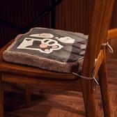 坐墊辦公室久坐神器學生加厚可拆洗日式美臀椅子墊餐椅墊記憶棉【愛物及屋】