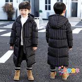 5兒童6男童棉衣外套2018中長款7加厚9棉襖8秋冬裝4小孩10男孩12歲
