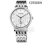 CITIZEN 星辰表 / BE9170-56A / 極緻簡約 日本機芯 礦石強化玻璃 不鏽鋼手錶 銀白色 39mm